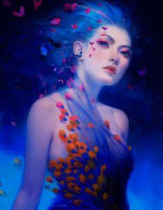 Blue Dust by `thienbao on deviantART