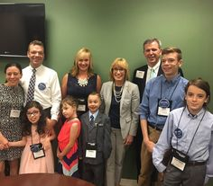 #SpeakNowforKids Ambassadors for @chadkids Parker Bolton and for @BostonChildrens Sadie McCallum had a great visit with @SenatorHassan today!