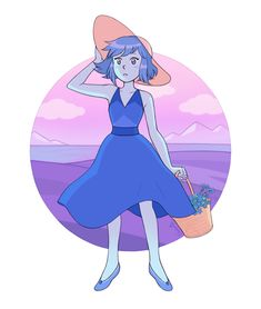 eunnieboo: lapis and forget-me-nots