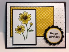 Bloom with Hope Hostess Set, Birthday Card Card, Stampin' Up!, Rubber Stamping, Handmade Cards