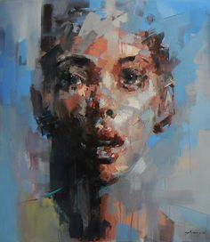 Christopher Møller Art: Ryan Hewett Awakening Series VII & VIII, 160 x 134cm