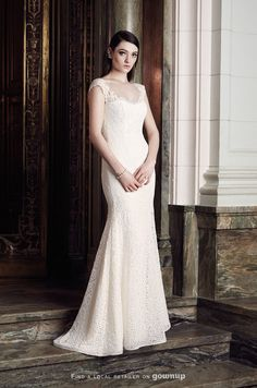 Mikaella Sweetheart Neckline Wedding Dress #sweetheart #gowns and wedding inspiration for #brides @mikaellabridal