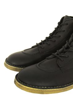 Kickers Men s The Legend Boots - Black c5a1a145e0f