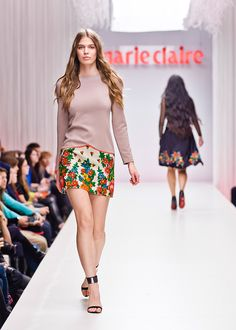 Marie Claire Fashion Days | Romani Design Fashion Days, Marie Claire, Gypsy, Branding Design, Identity, Sequin Skirt, Freedom, Sequins, Skirts