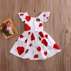 """""""Bristol"""" Toddler Dress Floral and classic look Perfectly hemmed above the knee Chic tie back Comfortable dress, lining not necessary Play in style or dress up with this ideal summer dress Dress For Girl Child, Princess Dress Kids, Toddler Dress, Toddler Girl, Baby Girls, Princess Party, Baby Girl Party Dresses, Baby Dress, Girls Casual Dresses"""