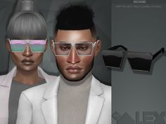 16 colors  Found in TSR Category 'Sims 4 Female Glasses'