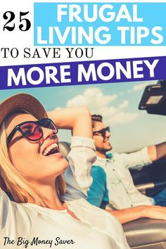 Living a frumgal lifestyle is the perfect way to have it all! It's how you can have money in savings and very little debt. Make it happen with these 25 frugal living tips to save you more money! frugal living tips, frugal living for beginners, frugal living ideas, ways to be frugal, how to be frugal, ways to save money, saving money, how to save money #frugal #frugalliving #frugallife #frugalmom #savemoney #savingmoney #budget #budgeting #moneymanagement