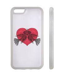 Bird Couple Happy Valentine Day Clear iphone 6/6s Transparent Plastic Phone Case/Phone Cover_ SUPERTRAMPshop (VAS576W) SUPERTRAMPshop