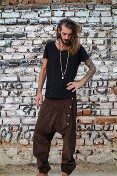 Arama long men's trousers, festival boho goa