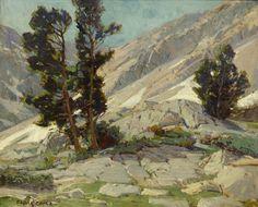 EDGAR PAYNE Mountain Landscape Oil on Canvas 20″ x 24″