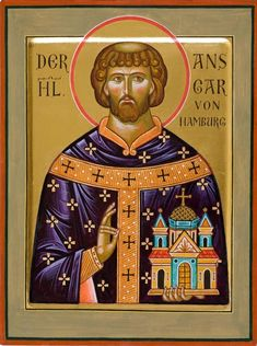 Feast of St. Ansgar;  Christian Religious Observance;  February 3;  Missionary to Scandinavia, called the Apostle to the North.
