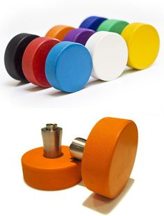 We're thinking of replacing our doorknobs with something like these. Our current doorknobs are so boring!