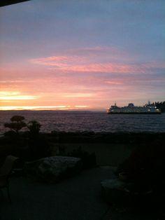 Sunrise Eagle Harbor