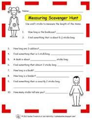 Image result for hand span foot length mathematics activities