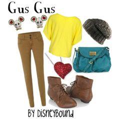 Gus Gus by Disneybound