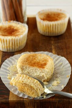Snickerdoodle Cheesecake Cupcakes | come on, how good is this going to be??
