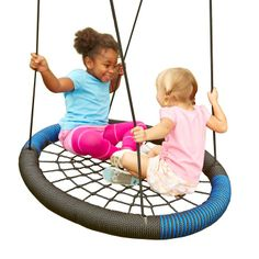 Twist /& Whirl Spinning Trapeze 360 degrees Playground Swing Set Adjustable Rope
