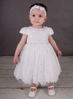 Les robe blanche pour petite fille