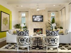 Tampa Bay Luxury Homes Builder Alvarez Designed And Built This Family Room In The