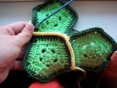 Free turtle shell crochet pattern