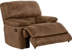 Stetson Ridge Brown Glider Recliner�. $499.99. 44W x 41D x 42H. Find affordable Recliners for your home that will complement the rest of your furniture.�
