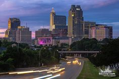 Raleigh NC Skyline Pictures | ... Raleigh, North Carolina by Matt Robinson – Raleigh Photos and Prints