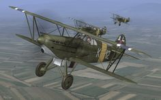 The Avia is a Czechoslovak biplane produced during the period between the Great War and World War II. Military Weapons, Military Aircraft, Fighter Aircraft, Fighter Jets, Czech Republic, World War Ii, Techno, Wwii, Planes