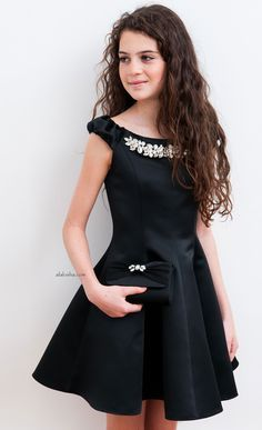 Your special girl will go crazy for these dresses from David Charles AW& Frock For Teens, Dresses For Teens, Cute Dresses, Girls Dresses, Crazy Dresses, Tween Fashion, Young Fashion, Girl Fashion, Fashion 101