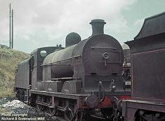 David Heys steam diesel photo collection - 88 - BR RAILWAY ROUNDABOUT 3 Old Steam Train, Steam Railway, British Rail, Steam Locomotive, Diesel, Ireland, Irish, Around The Worlds, David