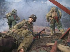 """""""Saving Private Ryan"""" a 1/6th scale diorama by Peter the Painter."""