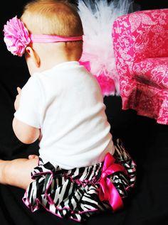 Baby Set Baby Ruffled Bloomer & Baby Onesie of by littleadamandeve