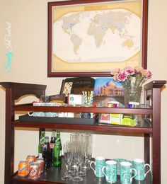 Repurposing Baby Changing Tables to Beverage Carts