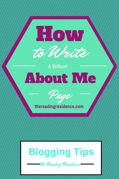 how to write an about me for business