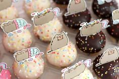 PUSHEEN BIRTHDAY PAWTY//// soooo cute