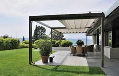 If you are looking to be wowed by great backyard landscaping ideas, then look no further. This piece covers everything you may need to know to achieve a great backyard. Deck With Pergola, Outdoor Pergola, Outdoor Rooms, Backyard Patio, Backyard Landscaping, Outdoor Gardens, Outdoor Living, Pergola Kits, Modern Pergola Designs