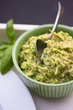 Broccoli Pesto - Roosa Nauha -pasta (Raw) | Keittiökameleontti