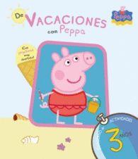 DE VACACIONES CON PEPPA PIG 3 AÑOS