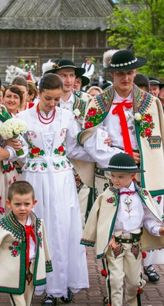 Traditional Polish Highlander Wedding