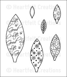 Perfect Petal Medley PreCut Set: click to enlarge