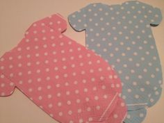 Set of 30 baby polka dot shirt paper napkins in blue by wrapsidazy, $30.00Polka dots in pink or blue for your baby shower table decor! www.etsy.com/listing/155375028 #bofriday #babyshower #napkins