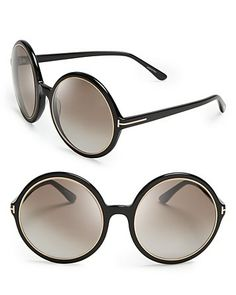 Tom Ford Carrie Oversized Round Sunglasses - All Sunglasses - Sunglasses - Jewelry & Accessories - Bloomingdale's