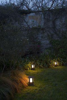 Porto | Lampade da terra da esterno in ferro e vetro