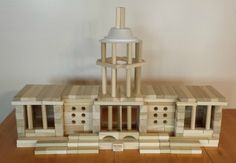 Fun things to build with wooden blocks! - A Wooden Blocks Model Of The U. Capitol, Fun Project With Blocks Wooden Blocks For Kids, Kids Blocks, Wood Blocks, Creative Activities For Kids, Stem Activities, Educational Activities, School Projects, Projects For Kids, Dr Seuss Snacks