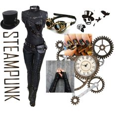 Steampunk Leader by moony1026 on Polyvore