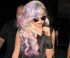 Lady Gaga's style keeps me interested! I love her hair and her grunge. I find people who are unique beautiful