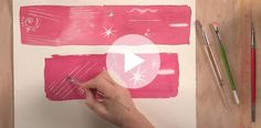 Learn to add fabulous textural details with Soon Y. Warren's easy watercolor techniques. WATCH: Texture Design Tips for Watercolor Painting here. Watercolor Painting Techniques, Easy Watercolor, Watercolor Paintings, Texture Design, Online Gallery, Workshop, Watch, Learning, Creative