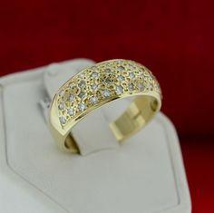 14KT Yellow Gold Genuine Diamond Band – MoneyMan Pawn