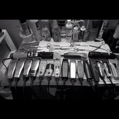#clippers for a army of #barbers