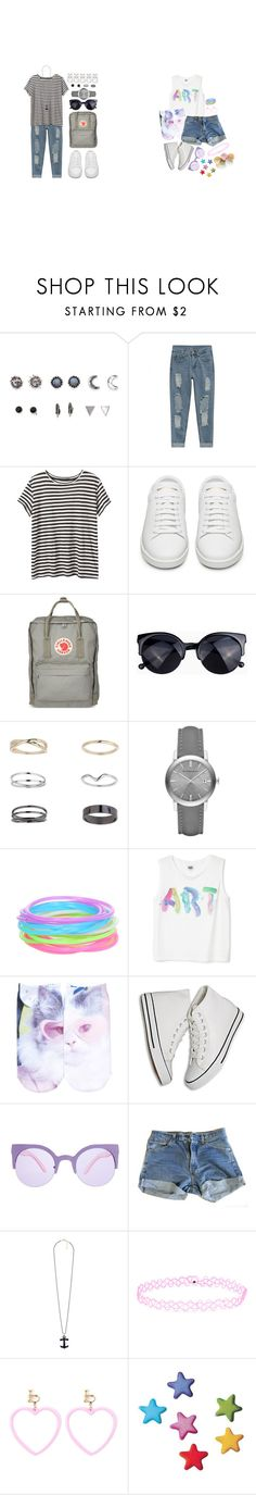 """""""- read the description please"""" by softsounds ❤ liked on Polyvore featuring With Love From CA, Proenza Schouler, Yves Saint Laurent, Fjällräven, Miss Selfridge, Burberry, Hot Topic, Free Press, ASOS and Levi's"""