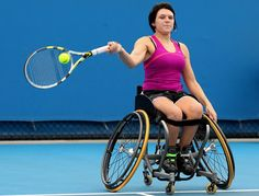 Jordanne Whiley, world number ten women's wheelchair tennis player on her story so far and her medal and legacy hopes for 2012.